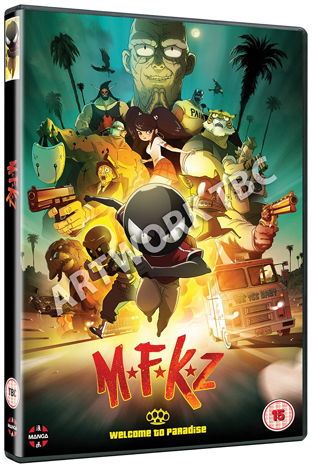 Amazon Com Mfkz Mutafukaz Dvd Movies Tv