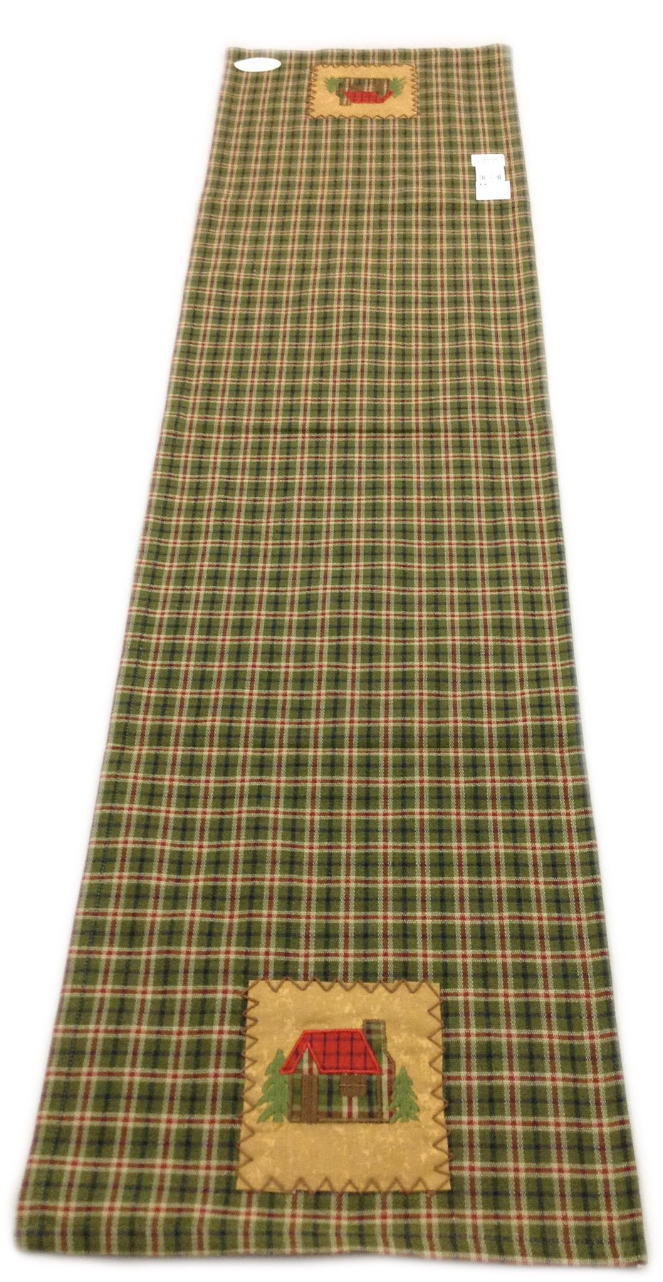 Cabin Plaid Table Runner 13 x 54 inches by Park Designs (Image #2)