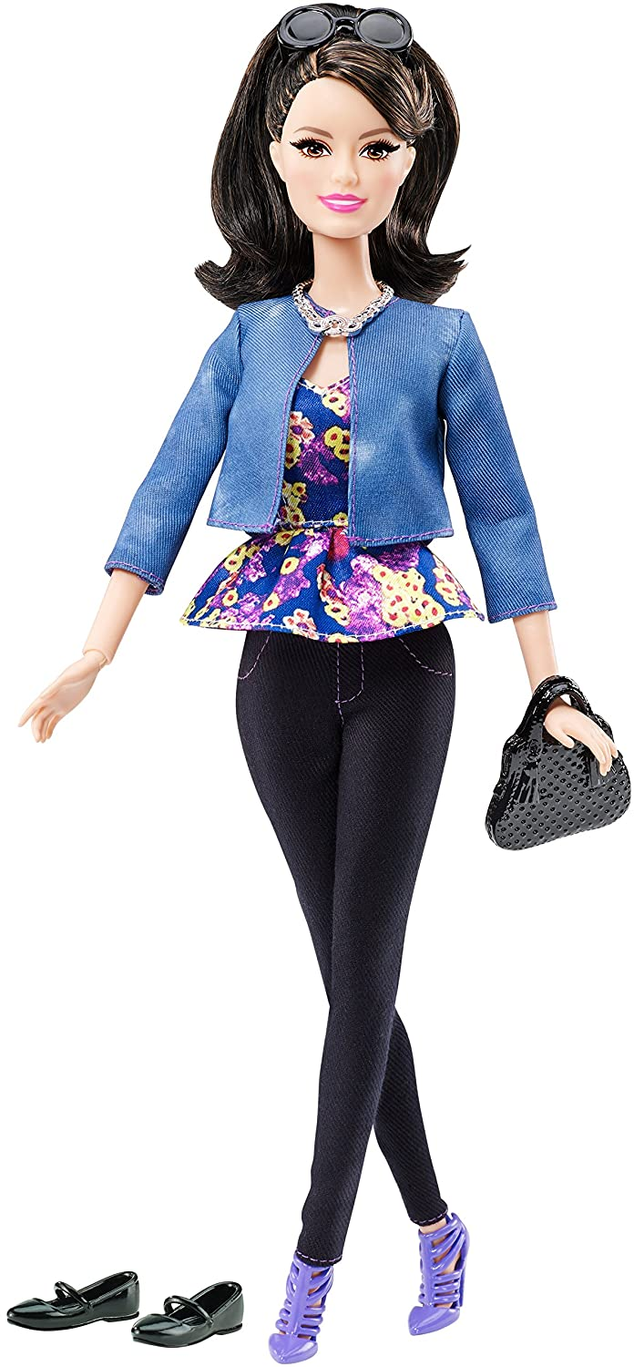 Uncategorized Barbie Raquelle amazon com barbie style raquelle doll black pants blue jacket toys games