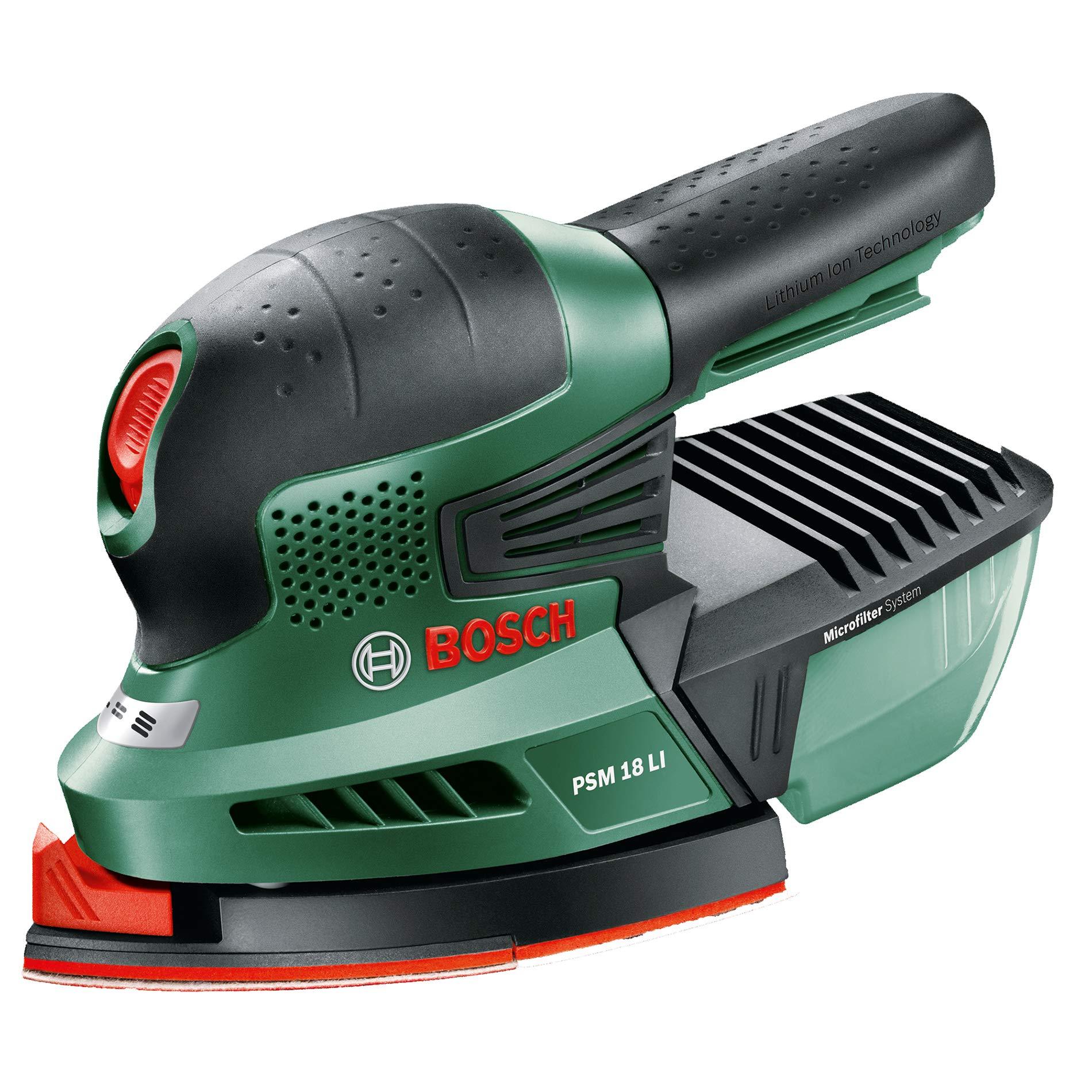 Bosch Home and Garden 0.603.3A1.301 Multilijadora de batería de Litio, 18