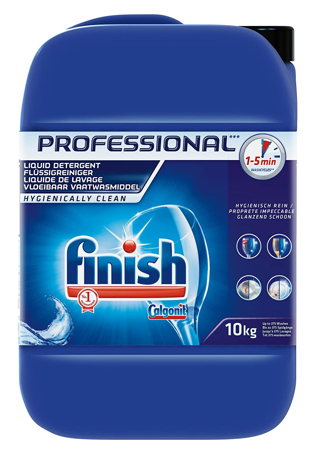 Finish - Detergente líquido para lavavajillas, 10 kg: Amazon ...