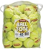 Tourna Pressureless Tennis Balls with Vinyl Tote (45 Count)