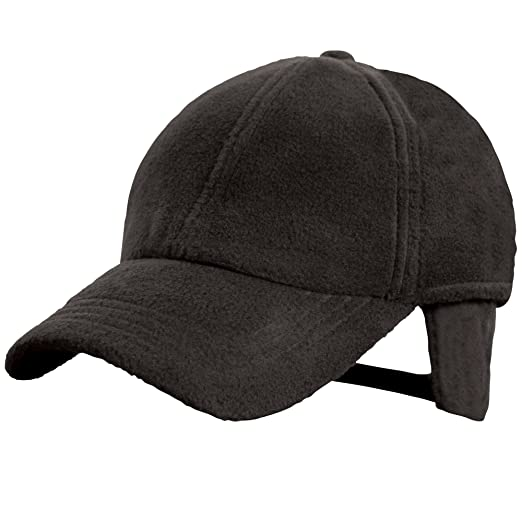 ec2908bbf1aa9 Result Active Winter Fleece Baseball Cap (One Size) (Black) at ...
