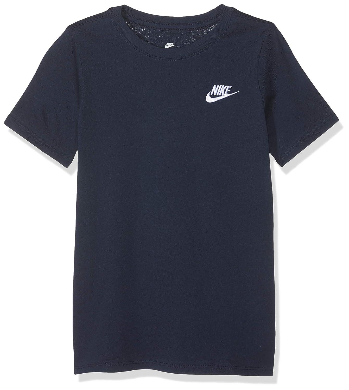 NIKE Futura Camiseta, Infantil, Obsidian, Large: Amazon.es: Ropa y ...