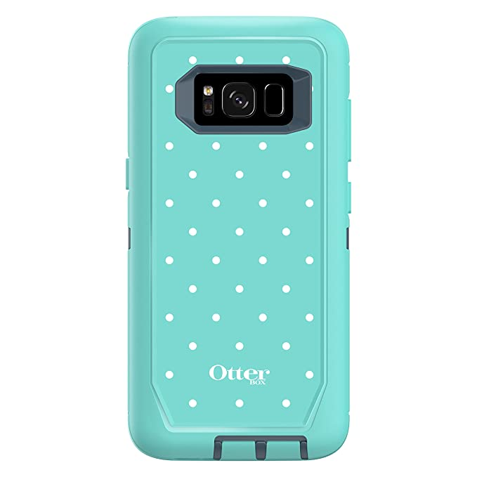 the latest fd7b2 7b599 OtterBox DEFENDER SERIES SCREENLESS EDITION for Samsung Galaxy S8 - Retail  Packaging - MINT DOT (TEMPEST BLUE/AQUA MINT/MINT DOT)