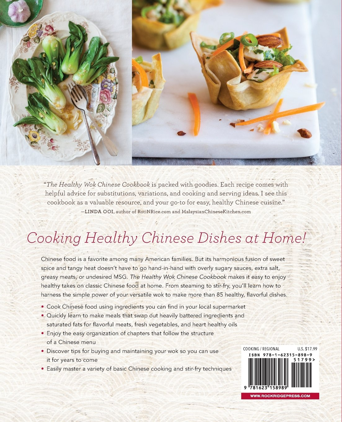 The healthy wok chinese cookbook fresh recipes to sizzle steam the healthy wok chinese cookbook fresh recipes to sizzle steam and stir fry restaurant favorites at home charmaine ferrara 9781623158989 amazon forumfinder Images