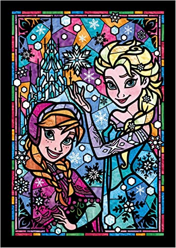 Queen Ana Elsa u0026 Stained Glass DSG-266-753 of snow and 266 piece Stained Art Ana tightly
