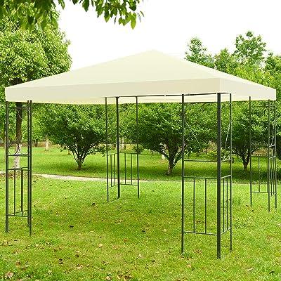 simplyUSAhello 10' x 10' Patio Gazebo Canopy Tent Garden Shelter : Garden & Outdoor