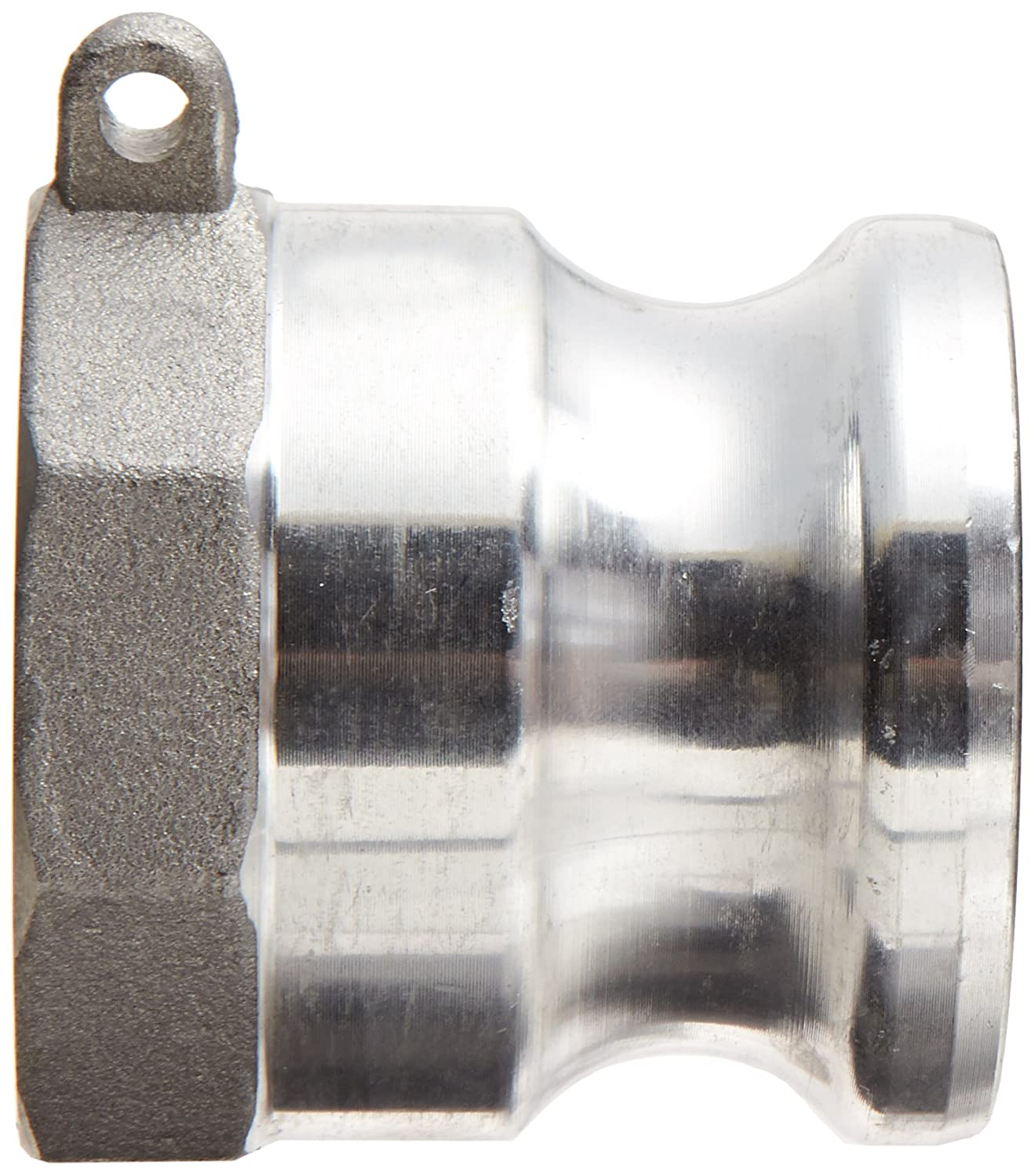 Dixon G100-A-AL Aluminum A380 Global Type A Cam and Groove Hose Fitting 1 Plug x 1 NPT Female