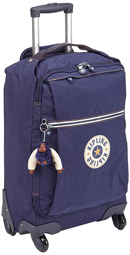 98a65f561 Kipling DARCEY Hand Luggage, 55 cm, 30 liters, Blue (Active Bl):  Amazon.co.uk: Luggage