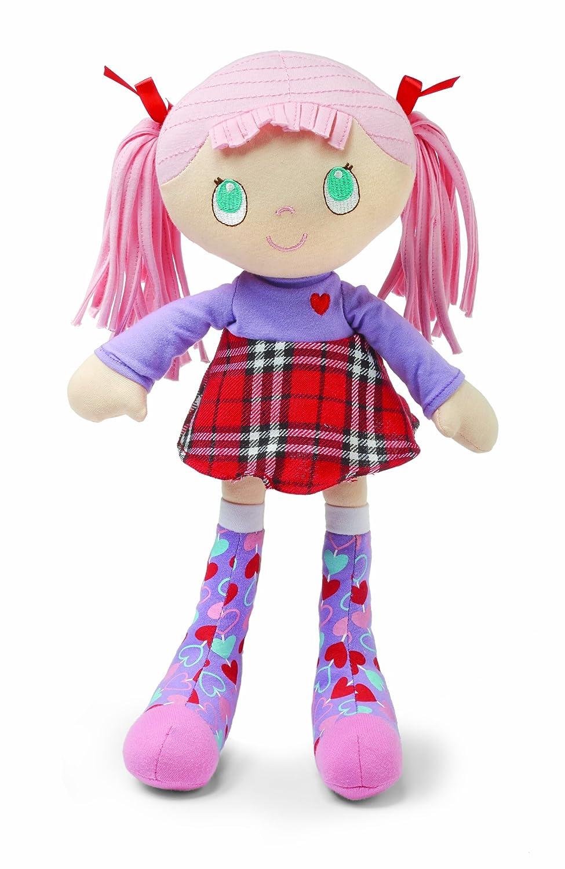 Enfants Preferrouge Socks Rock Doll, rose Hair