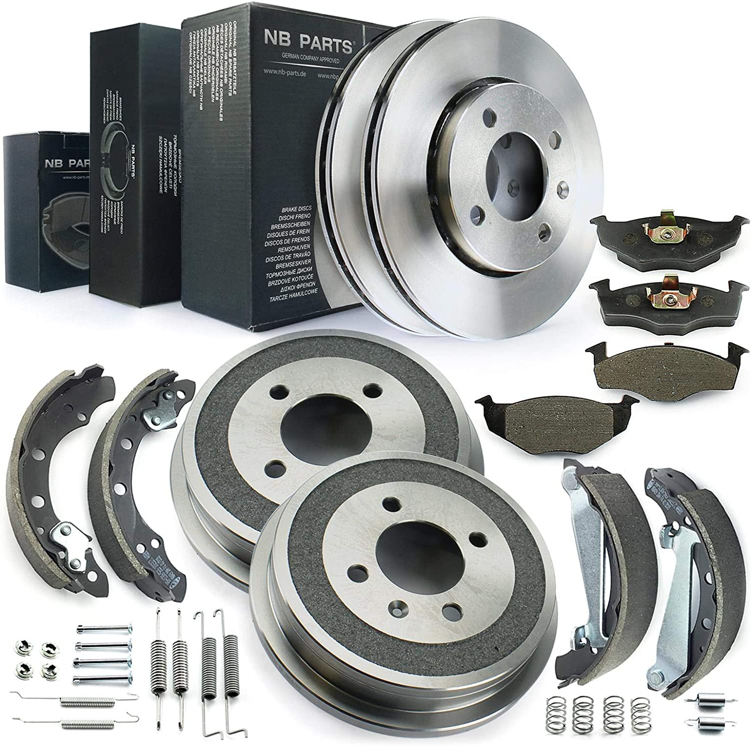 Bremsen Bremsen Set Vorne Hinten Nb Parts Germany 10042770 Auto