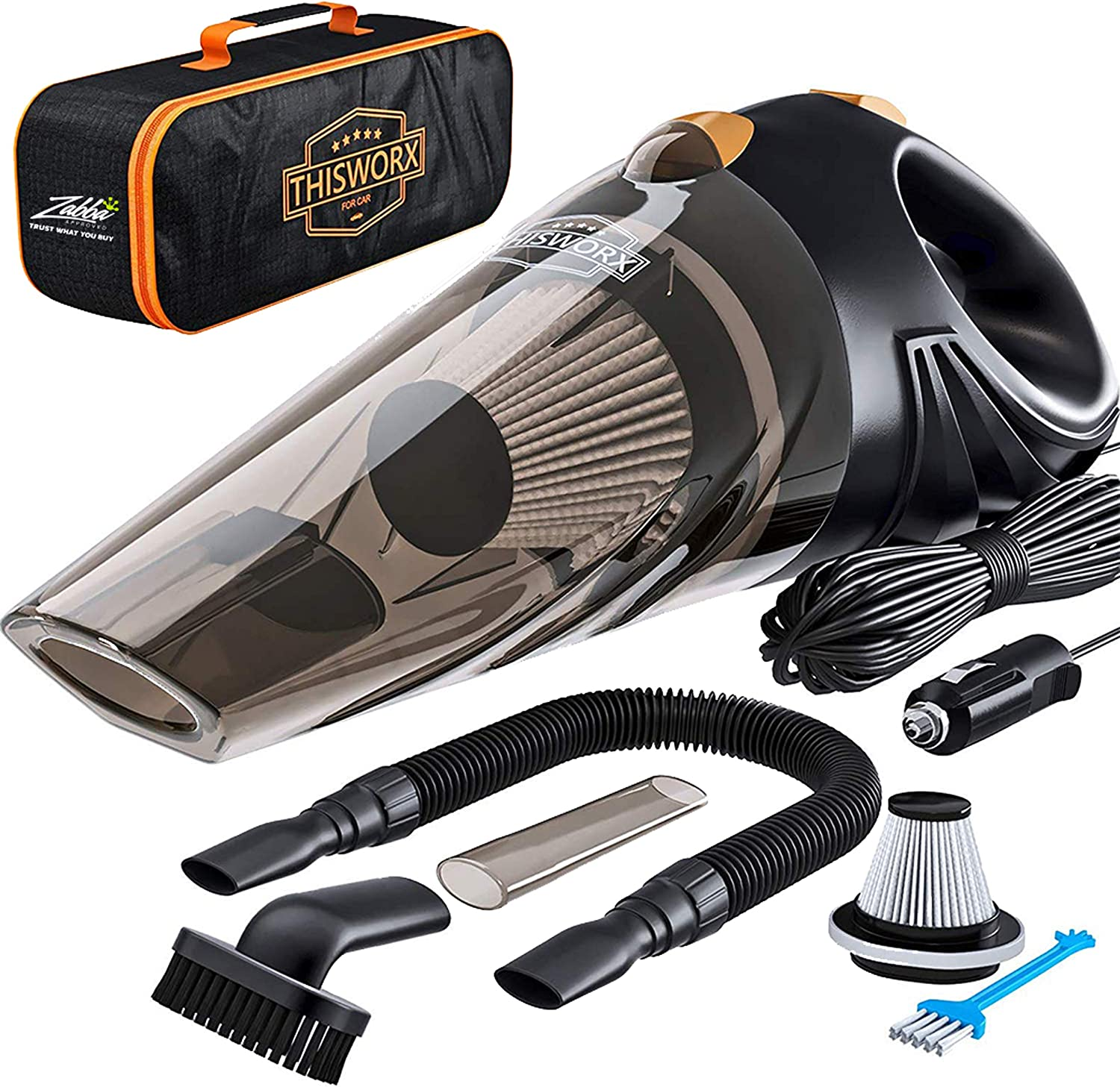 This Portable Car Vacuum Cleaner Cleans Every Corner Of Your Car