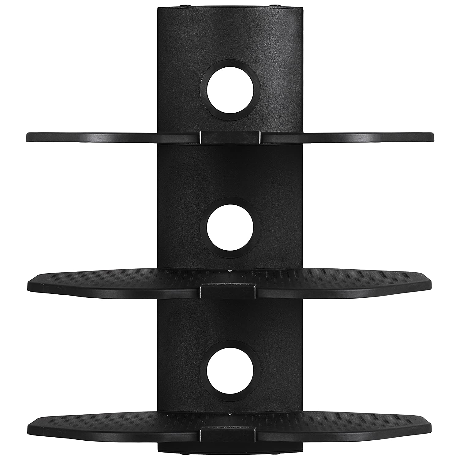 Amazon cheetah as3b 3 shelf tv component wall mount shelving amazon cheetah as3b 3 shelf tv component wall mount shelving bracket with 18x16 inch shelf 15 feet twisted veins hdmi cable for satellite box amipublicfo Images