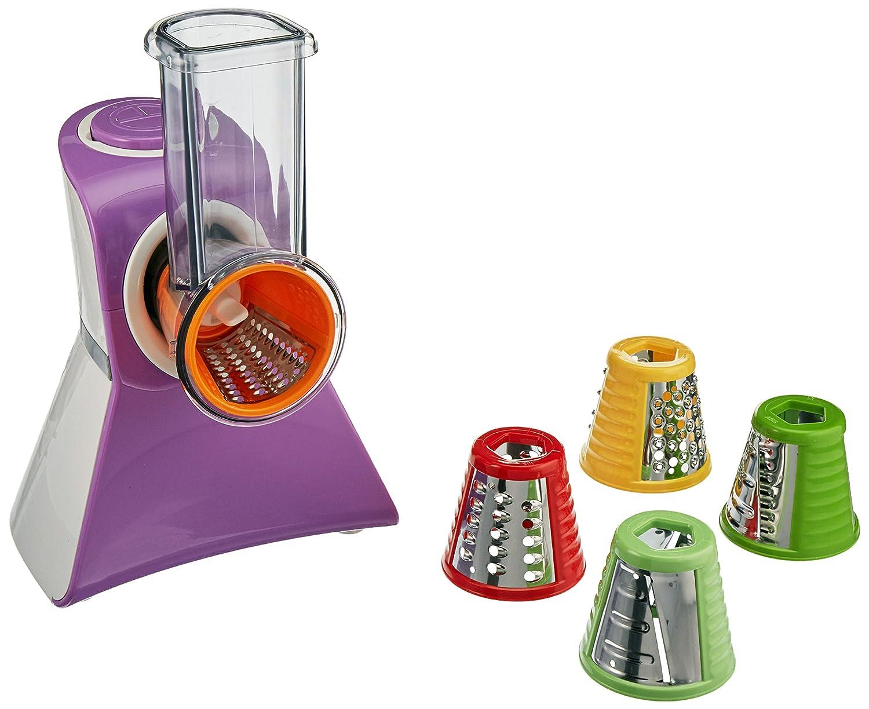 Cooks Club USA VC02SPU Salad Maker Food Processor, Mini, Purple