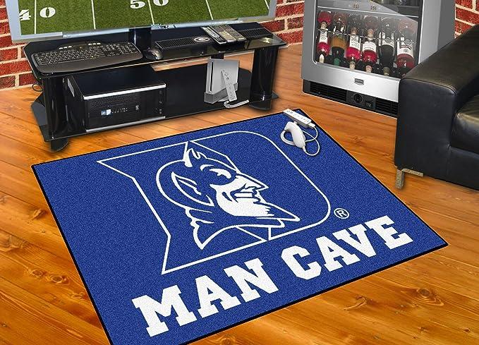FANMATS 14541 Duke University Nylon Universal Man Cave All-Star Mat