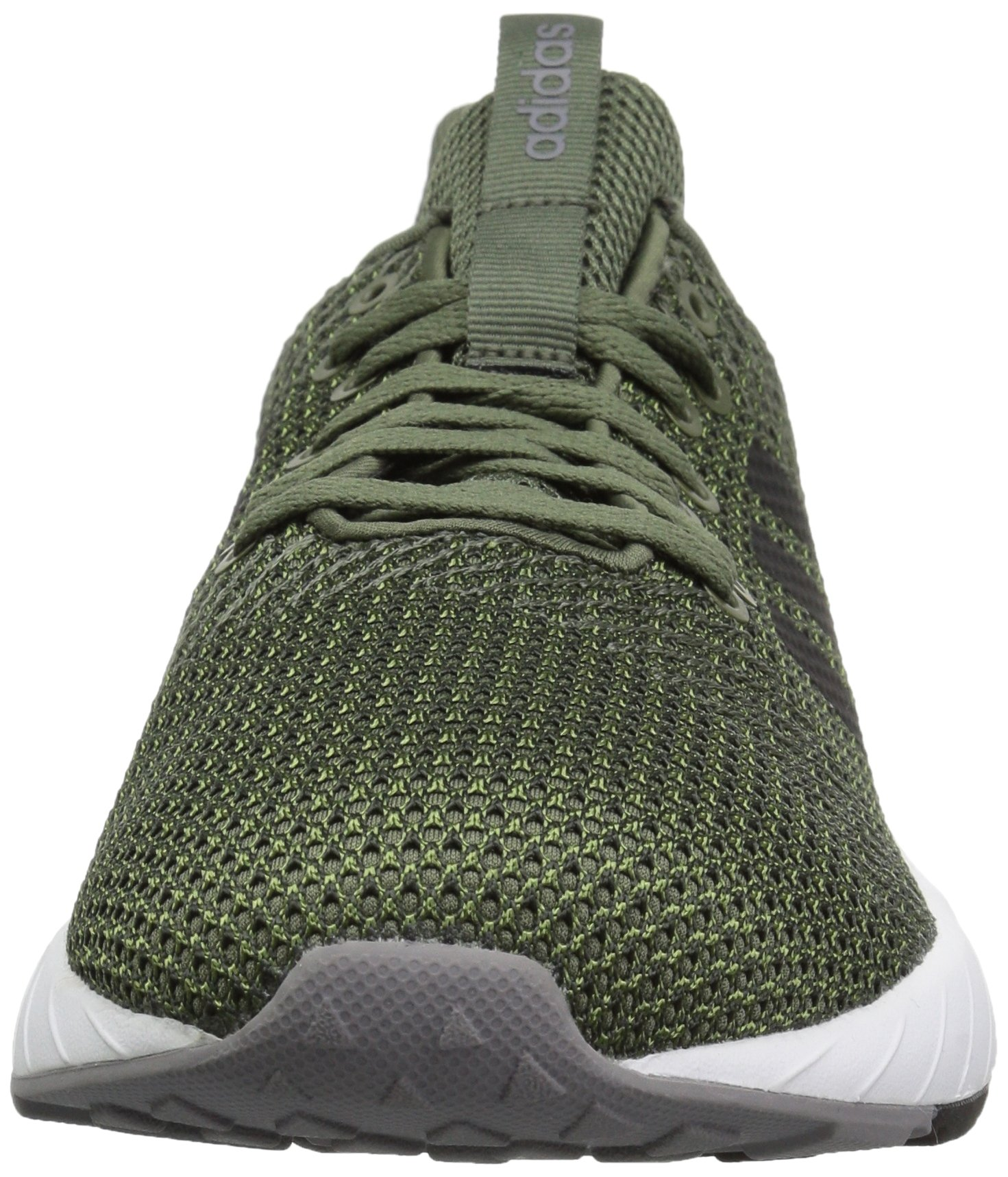 adidas Men's Questar BYD Running Shoe, Base Green/Black/Grey, 6.5 M US by adidas (Image #4)