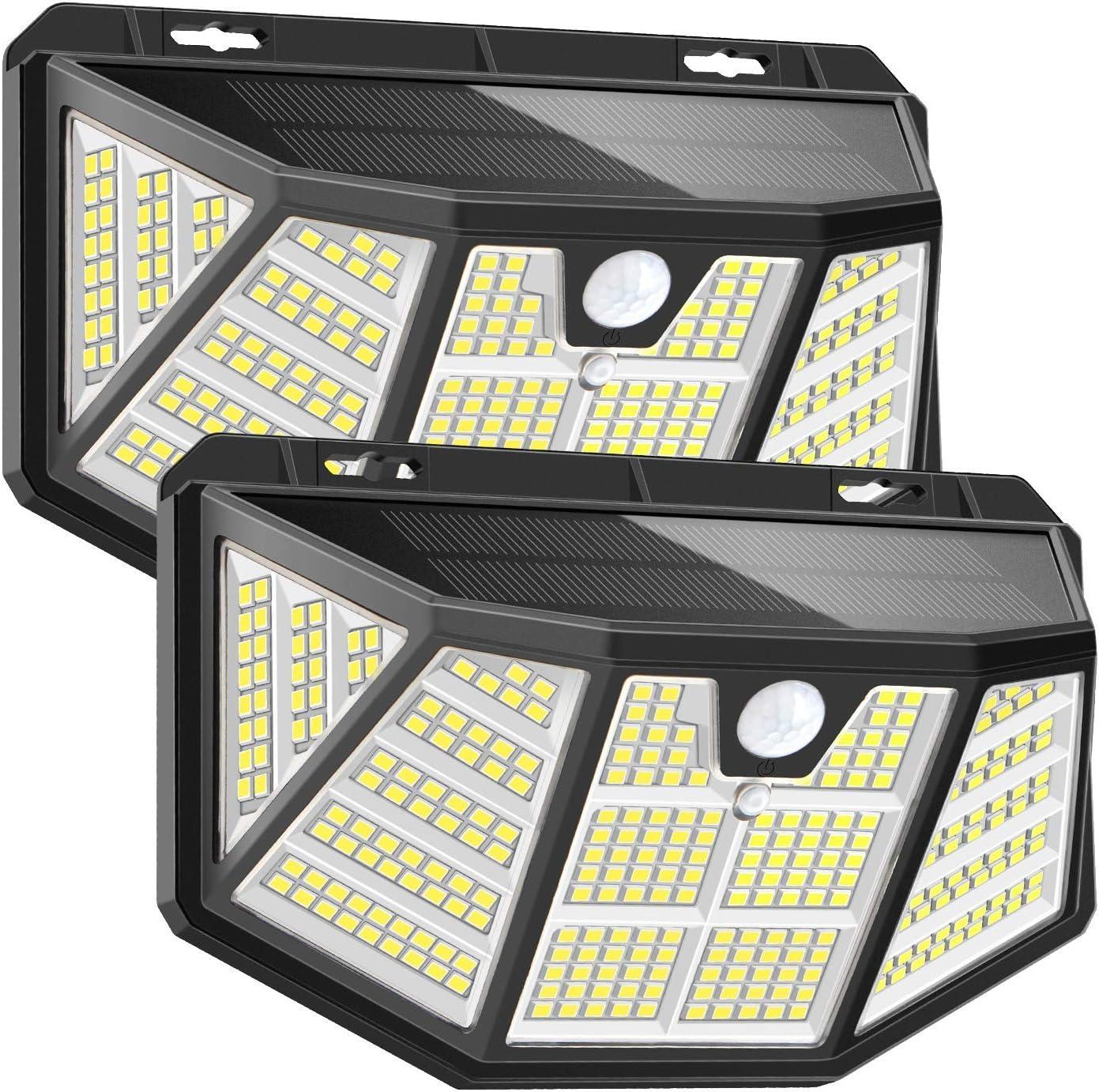 Pathinglek 2 Packs 310 LED Outdoor Solar Lights $19.99 Coupon