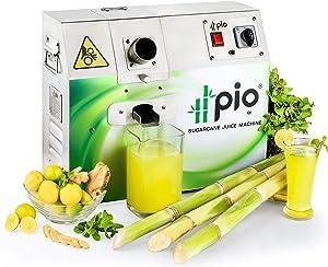 PIO Sugarcane Juice Machine (3 Roller, Single Phase 110V/220V Stainless Steel 304)
