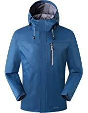 Eono Essentials Men's Mid-Weight Waterproof and Breathable Jacket