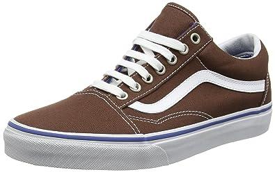 Old Skool, Unisex-Erwachsene Sneakers, Blau (Canvas/True Blue), 44.5 EU Vans