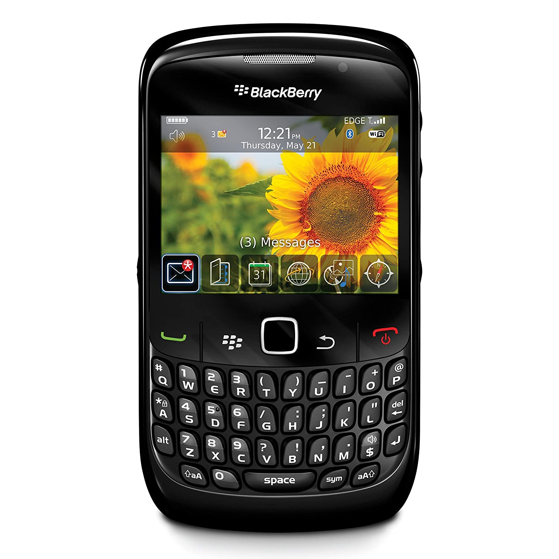 BlackBerry Curve 8520 Unlocked GSM Keyboard + Trackpad Phone - Black