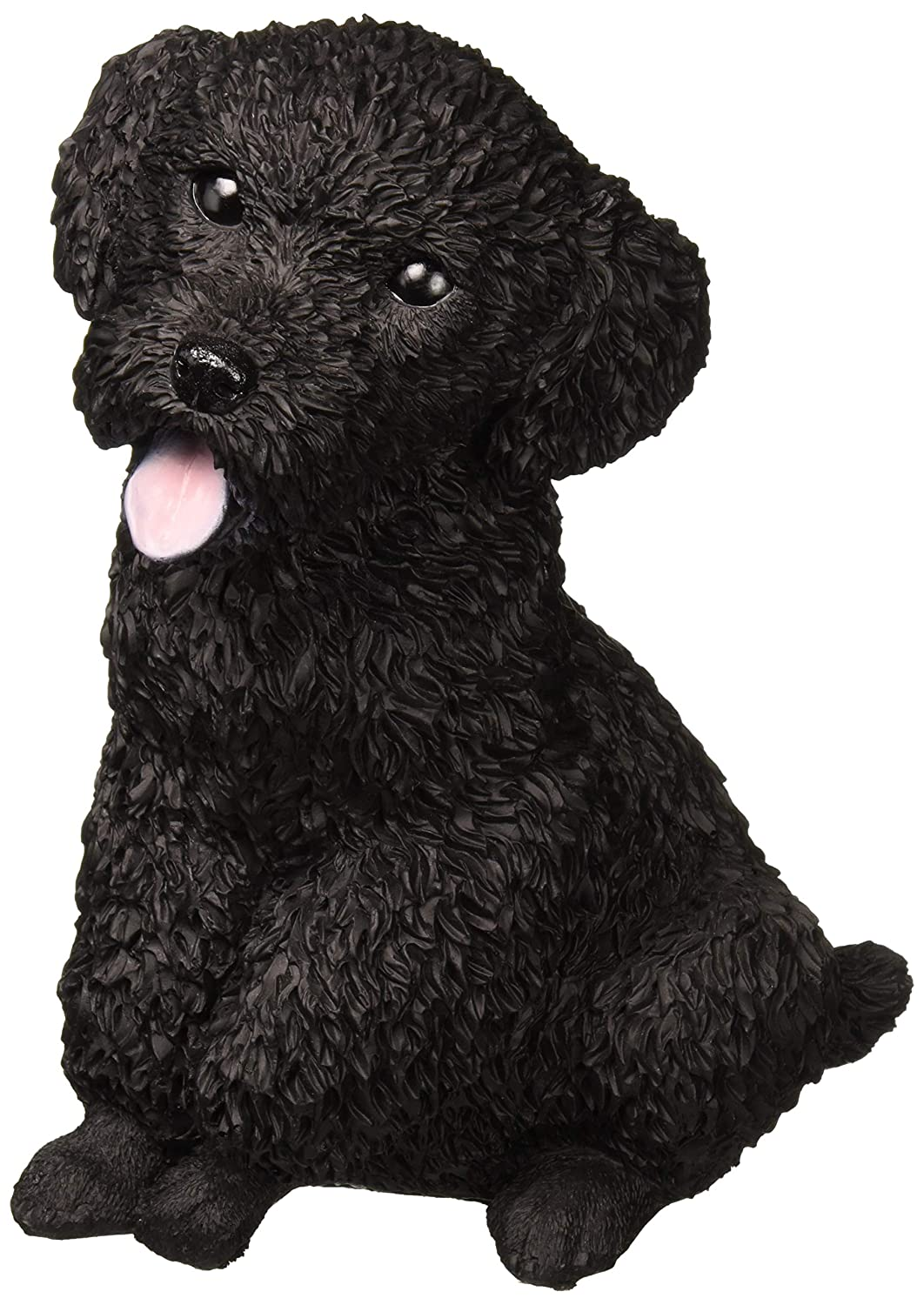 Design Toscano Black Poodle Puppy Dog Statue