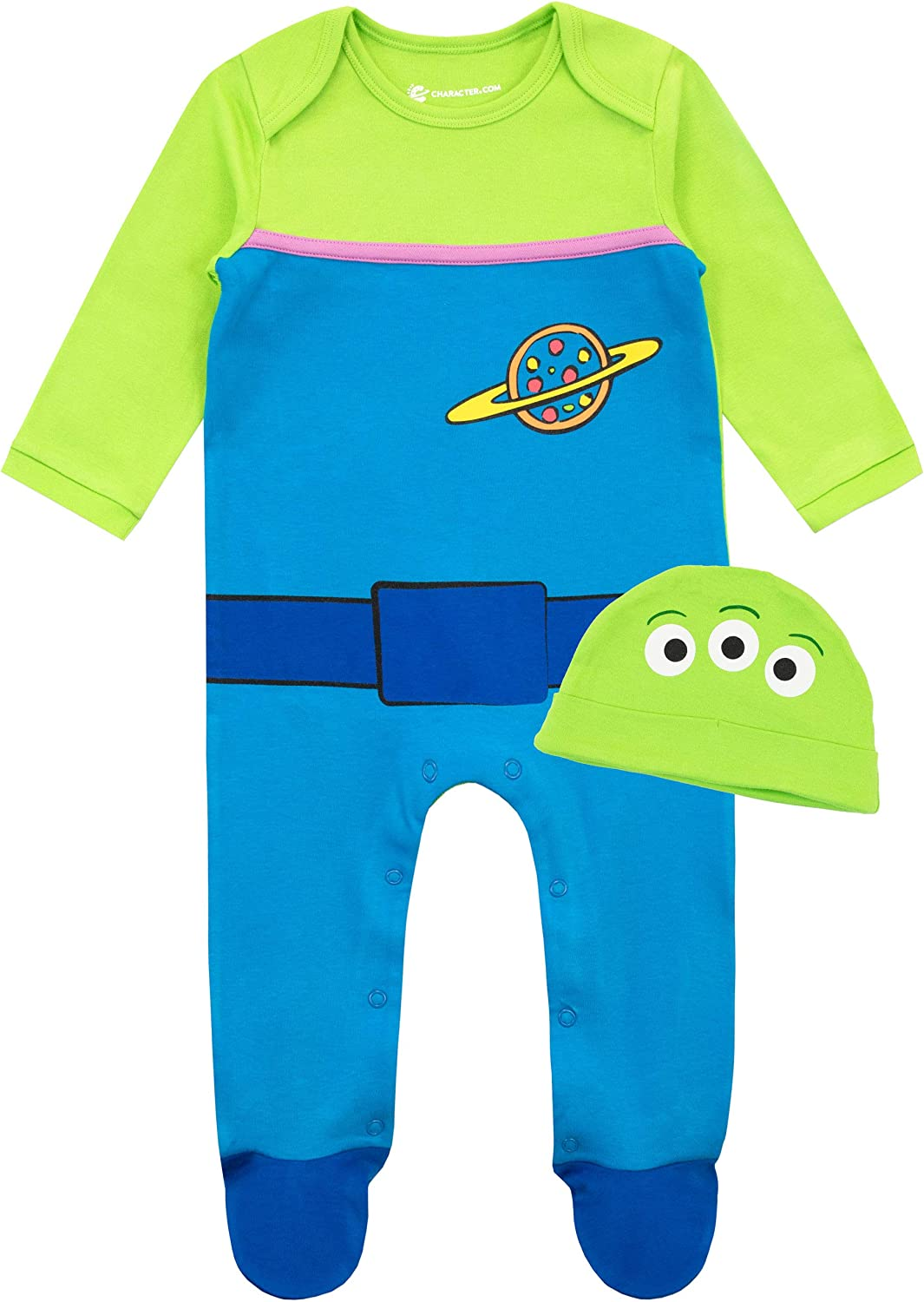 Disney Baby Boys Toy Story Footies and Hat Set