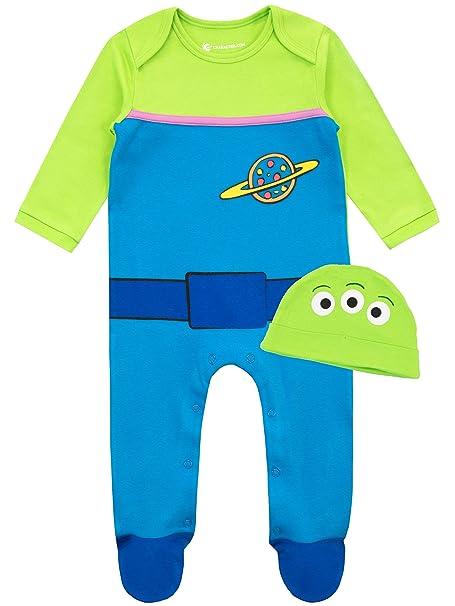 Disney Pijama Conjunto de Pijama Entera y Gorro para Ni/ños Beb/és Mickey Mouse