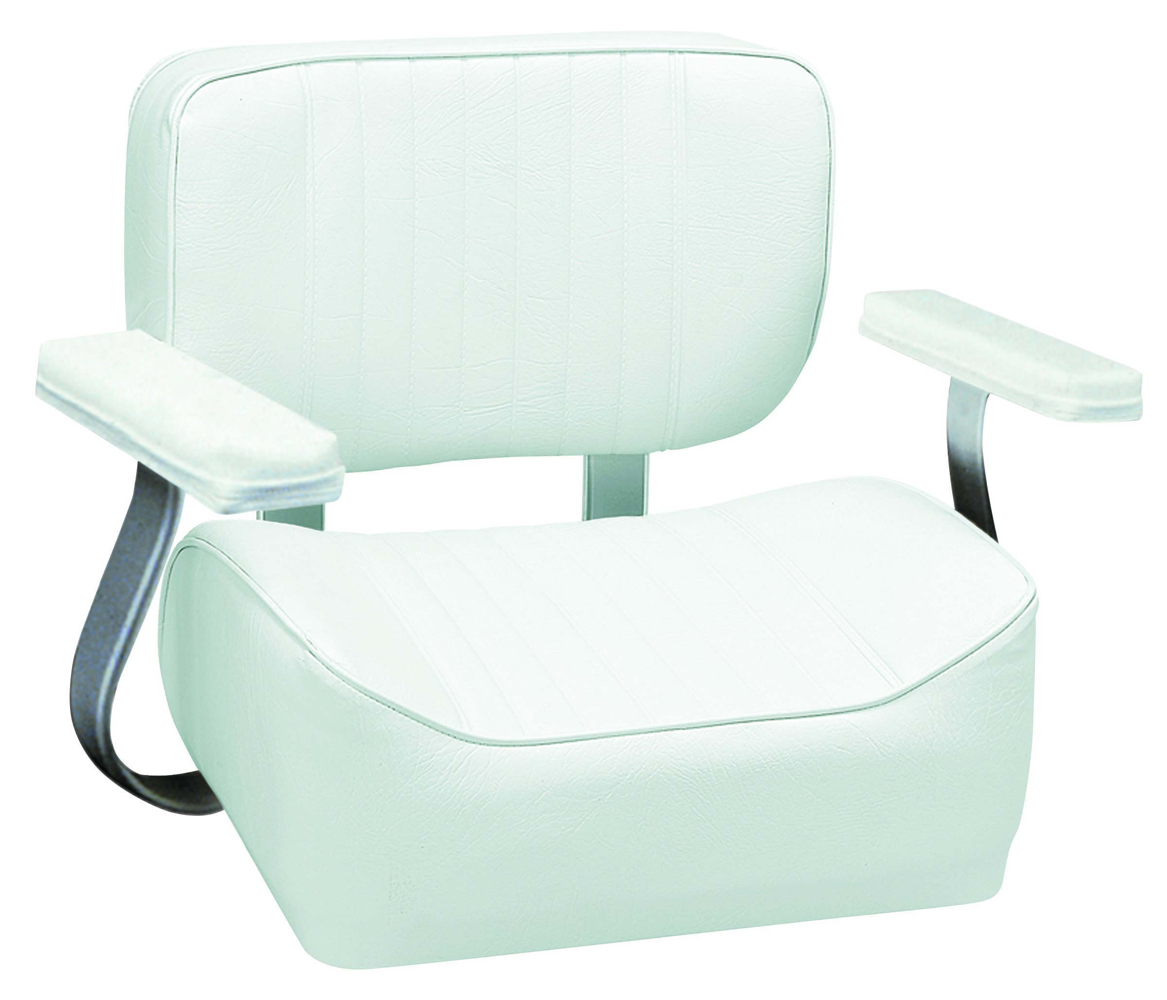 Wise 8WD431AR-710 Helm Seat with Arm Rests, White by Wise