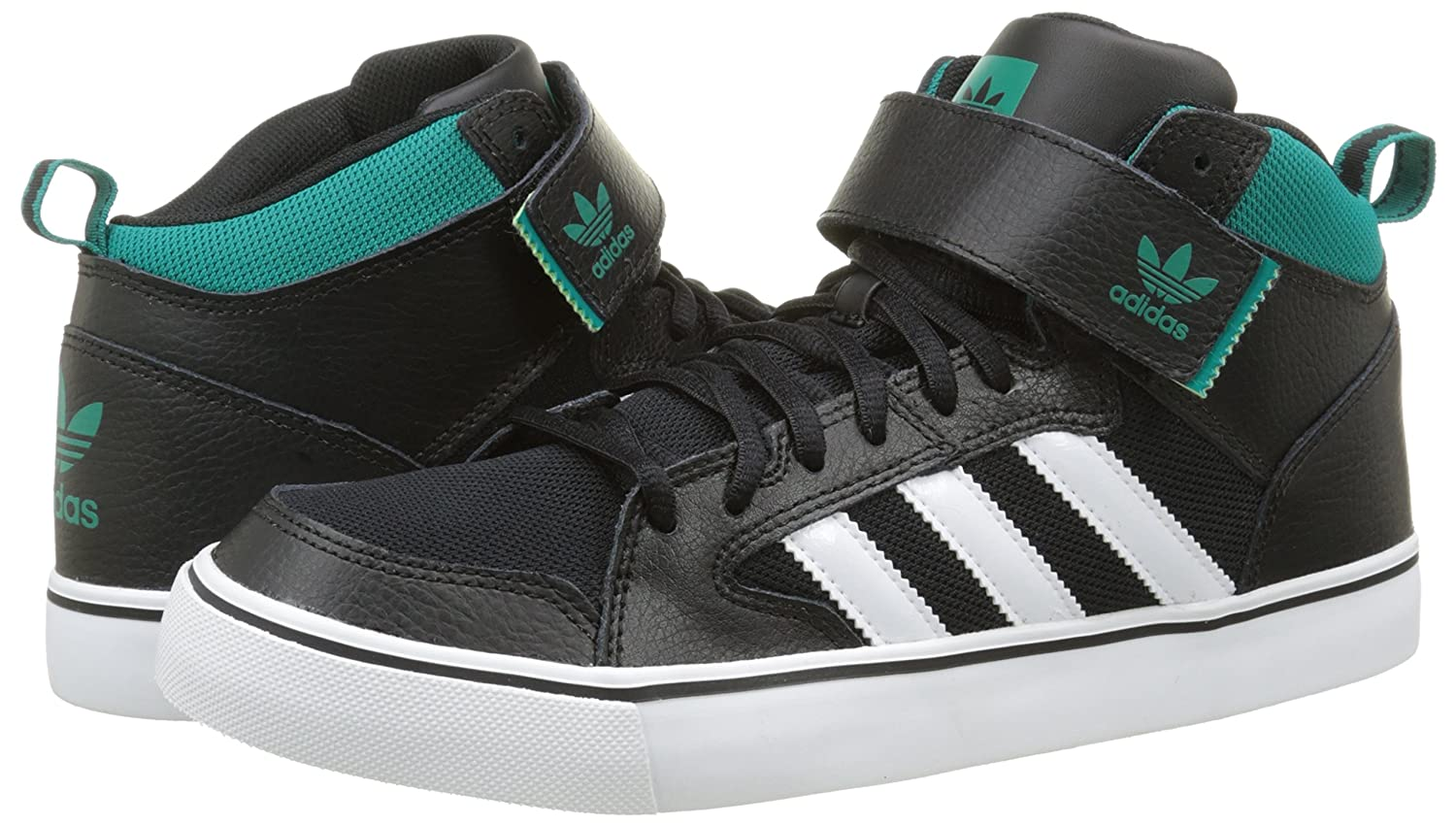 3abad428dfc6 Adidas Varial Mid F37482 Mens shoes Black-Green-White 13 D(M) US   Amazon.in  Shoes   Handbags