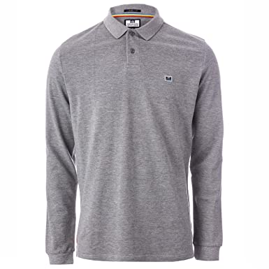 Weekend Offender - Polo - para Hombre Gris Gris Large: Amazon.es ...
