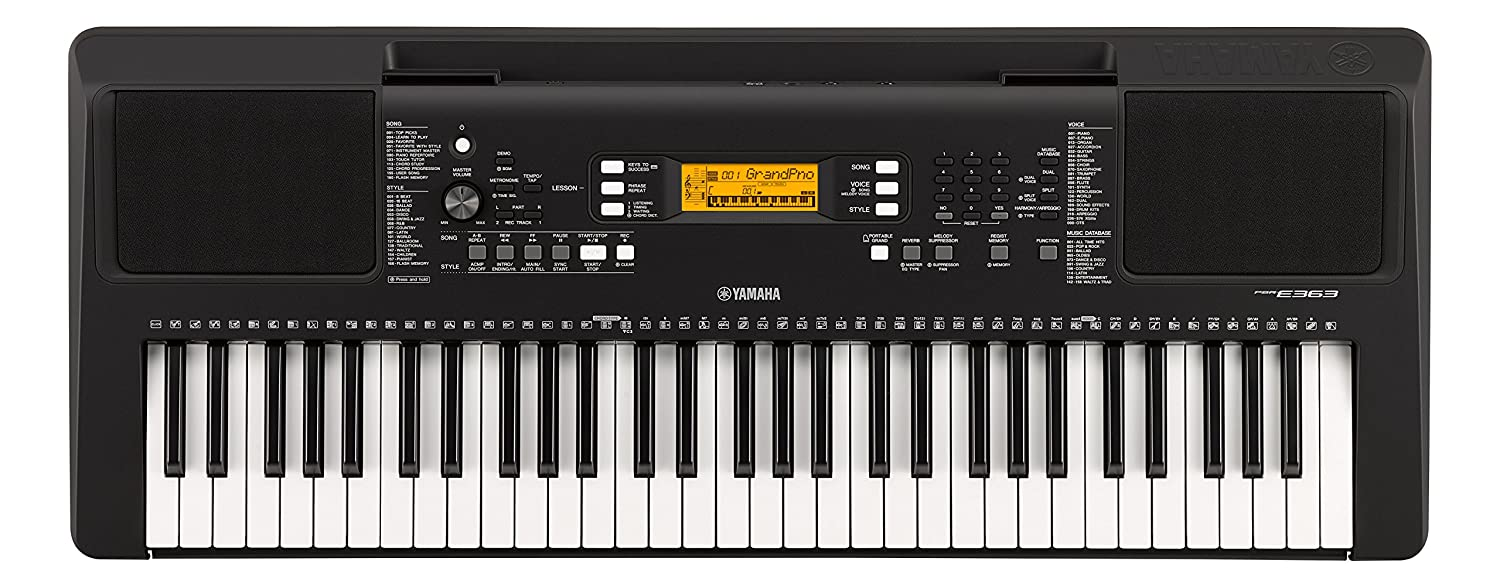 Yamaha PSR-E363 Portable Electronic Keyboard YAMA6