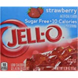 Jello Sugar Free Strawberry Jelly Mix 8.5g