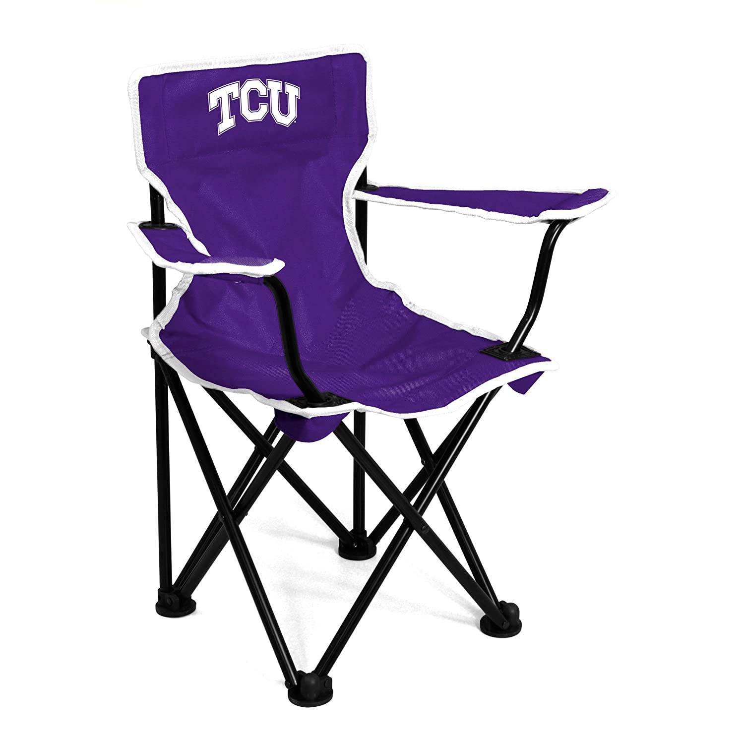Logo Brands NCAA TCU Horned Frogs Toddler Toddler Chair Purple