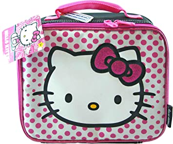 8bfe376378 Image Unavailable. Image not available for. Color  Hello Kitty lunch bag ...