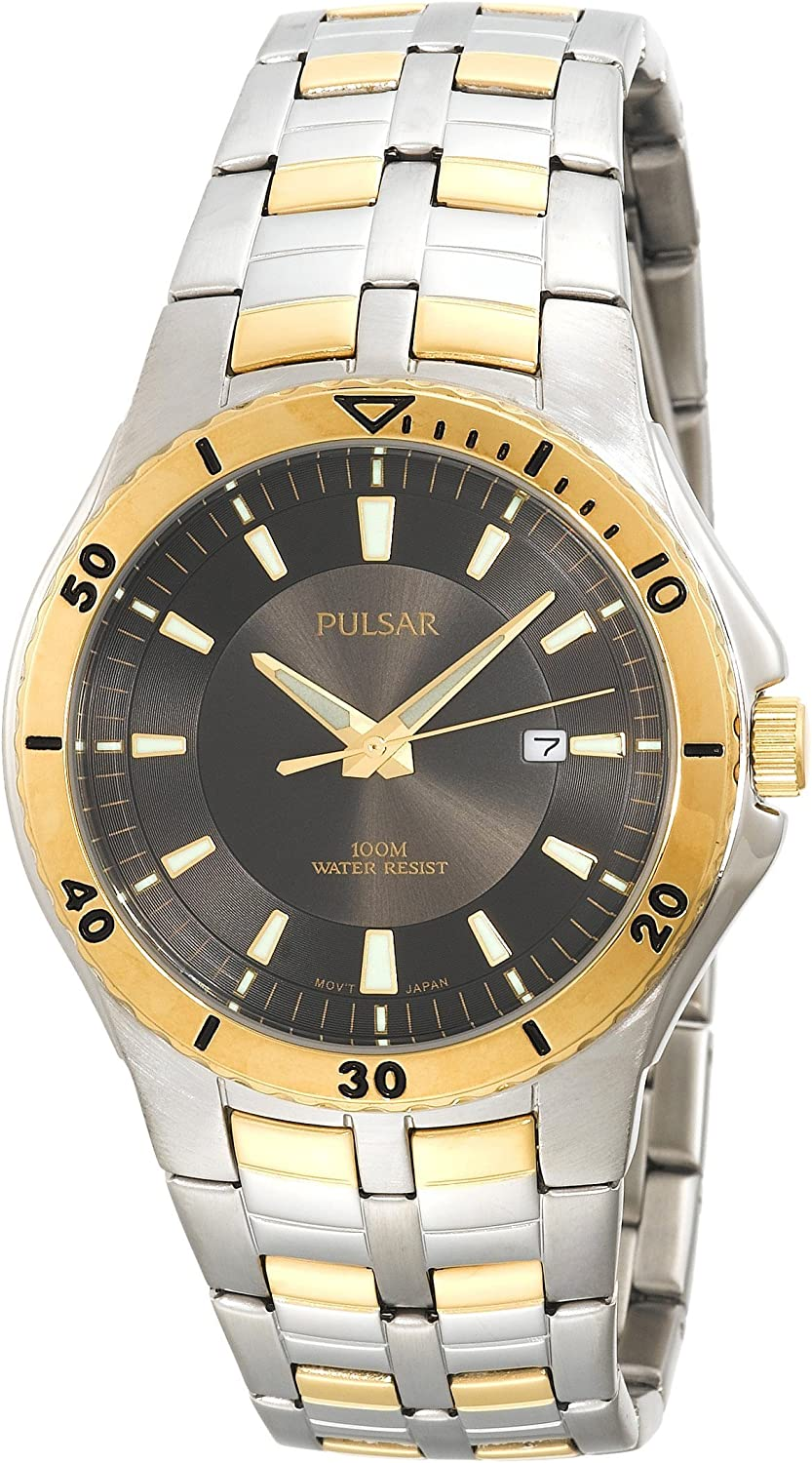 Pulsar Men's PXDB24 Sport Two-Tone Stainless Steel Watch