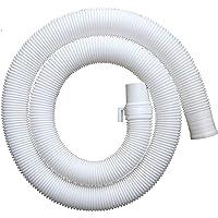 Neerjharini 3 Meter Universal Flexible Plastic Waste Water Outlet Pipe Hose ,(Length: 3 Meter)