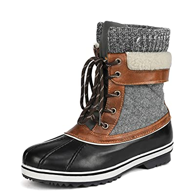 DREAM PAIRS Women's Mid Calf Winter Snow Boots | Boots