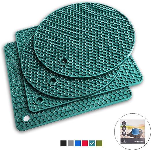 Amazon.com: Qs INN Salvamanteles de silicona | Soportes ...