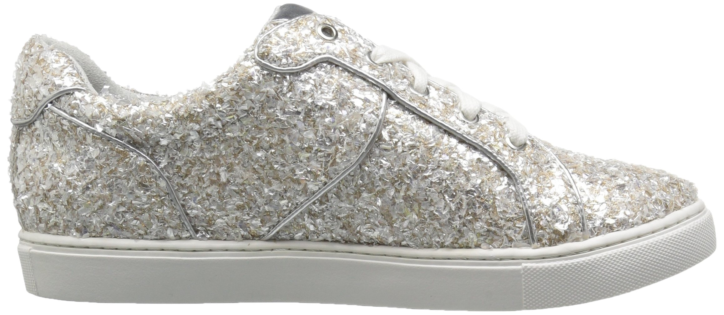 The Fix Women's Tawny Lace-up Fashion Sneaker, Silver Ice, 7.5 B US by The Fix (Image #7)