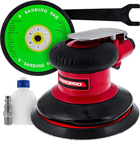 """TCP Global Brand 6"""" Dual Action D.A. Sander With Pad"""