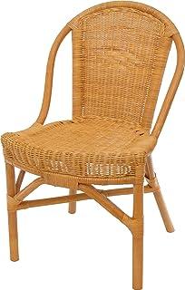 Ikea Almsta Rattan Stuhl Amazon De Kuche Haushalt