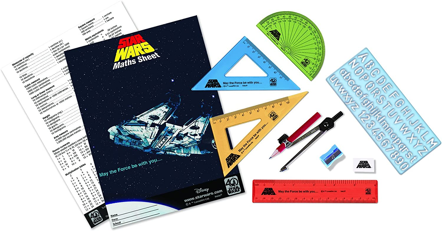 Star Wars 40th Anniversary   Helix   Stormtrooper Stationery School  Set