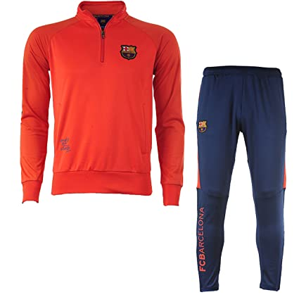 100% authentic delicate colors clearance prices Fc Barcelone Survêtement Training Barca - Collection Officielle Taille  Adulte Homme