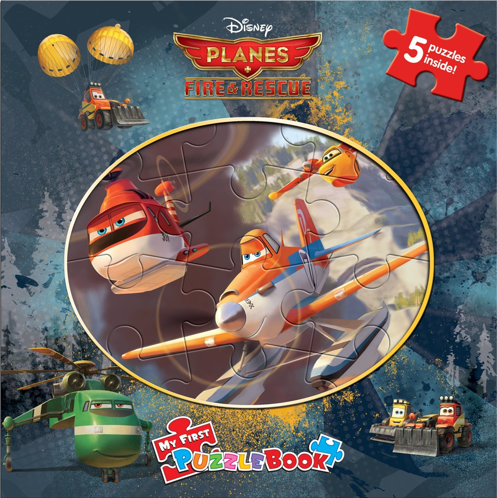 Download Disney Planes Fire & Rescue My First Puzzle Book pdf epub
