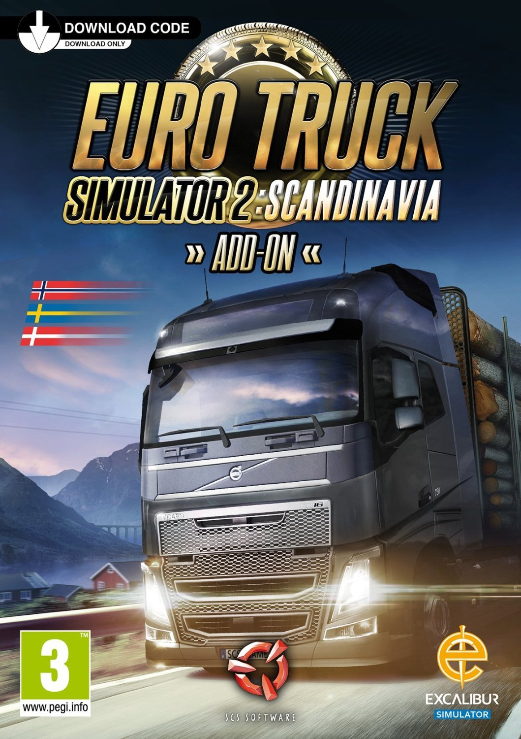 Euro Truck Simulator 2 Scandinavia Add On Digital Download Card Buy Online In Burundi At Burundi Desertcart Com Productid 15527604