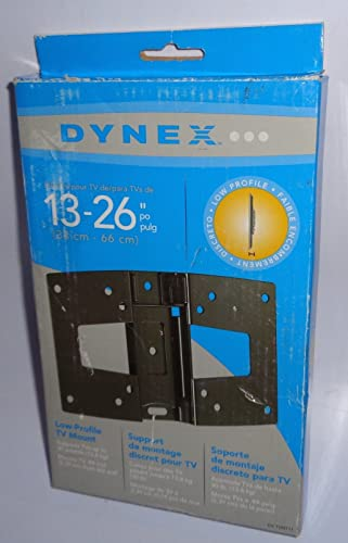 Dynex DX-TVM111 Low-Profile Wall Mount 13 Inch – 26 Inch Flat