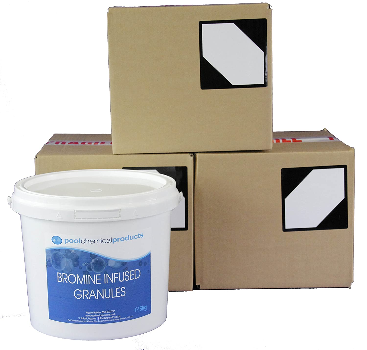 Bromine Infused Granules 20kg Swimming Pool Spa Hot Tub Pool Chemical Products