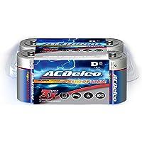 8-Pack ACDelco High Performance Super Alkaline D Batteries